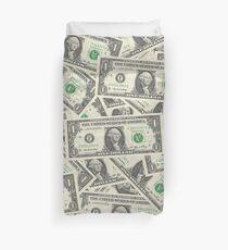 Dollar Bills Duvet Cover