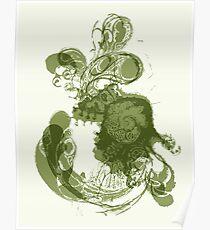 lavae v (organic form) Poster