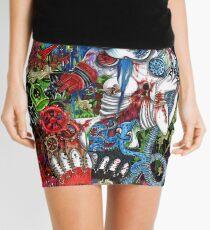 mayhem constructed   Mini Skirt