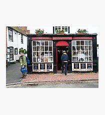 Post Office: Alfriston Village, East Sussex, England, UK. Photographic Print