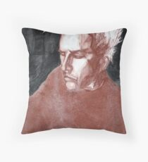 self portrait as sung by joplin Throw Pillow