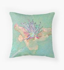 Pastel Quince Throw Pillow