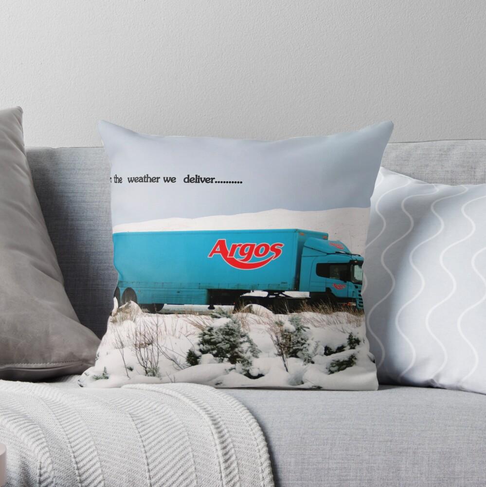 Argos Throw Pillow