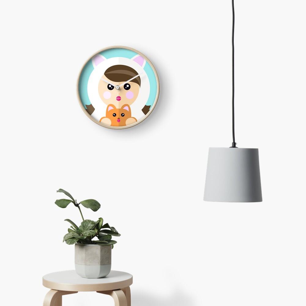 Soy una ladycat Reloj