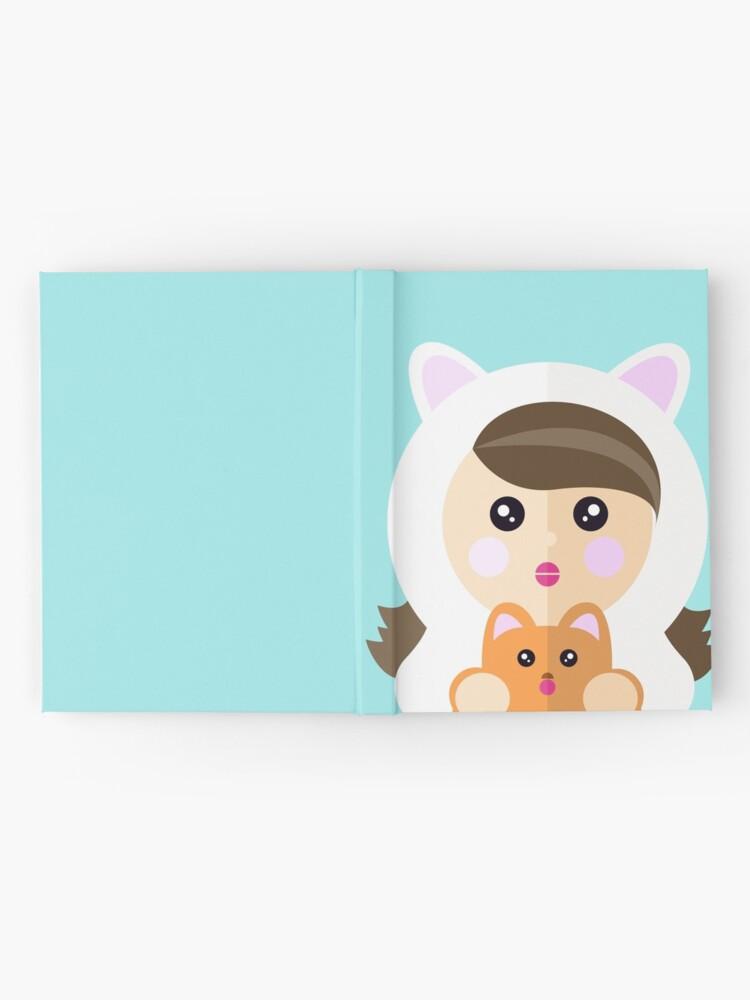 Vista alternativa de Cuaderno de tapa dura Soy una ladycat