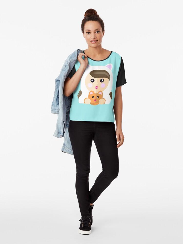 Vista alternativa de Blusa Soy una ladycat