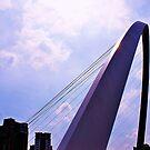millennium bridge in newcastle by xxnatbxx