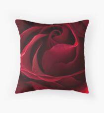 Dark Red Rose Dekokissen