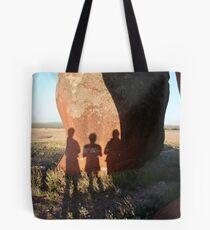 Shadows On Murphy's Haystacks Tote Bag