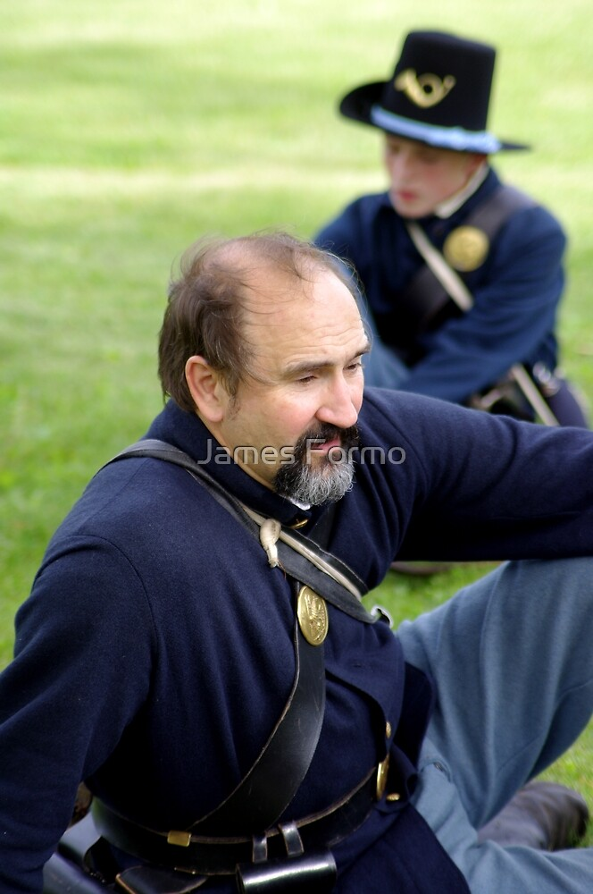 Union Soldier Contemplating the Coming Battle by James Formo