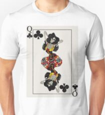 Queen of Clubs Unisex T-Shirt