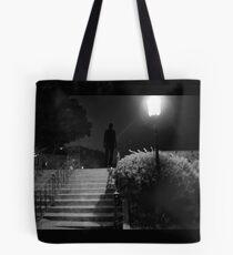 The killer awoke before dawn... Tote Bag