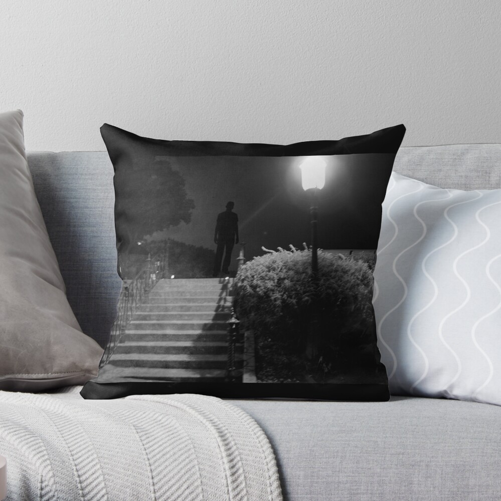 The killer awoke before dawn... Throw Pillow