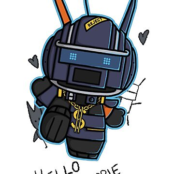 Chappie t shirt, iphone case & more by wordplayer73