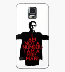 The Prisoner - I AM NOT A NUMBER! Case/Skin for Samsung Galaxy