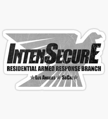 IntenSecurE Sticker