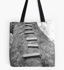 Up to the cubby house Tote Bag