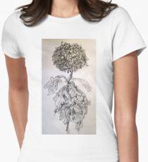 Chrysanthemum after Piet Mondrian Women's Fitted T-Shirt