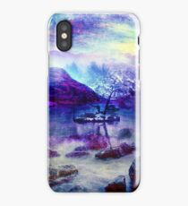Abstract Winter Lake iPhone Case/Skin