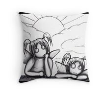 Cherubs Throw Pillow