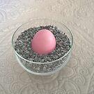 Pink Egg by Martha Medford