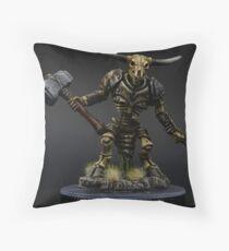 Undead Minotaur Floor Pillow