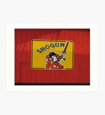 Shogun, South of the Border Art Print