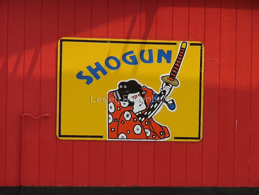 Shogun, South of the Border by Lesley Rosenberg