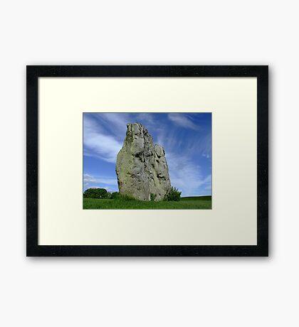 Avebury Stone Framed Print