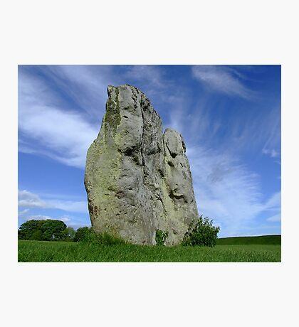 Avebury Stone Photographic Print