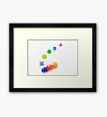Childs play Framed Print