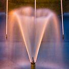 Franklin Square Fountain, Hobart, Tasmania by Chris Cobern