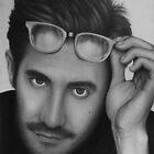 Jake Gyllenhaal portrait by robdolbs
