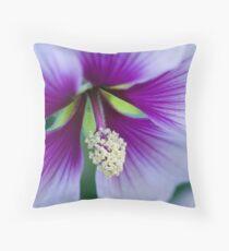 Purple Effusion Throw Pillow