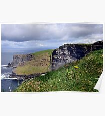 Cliffs of Moher, Co. Clare, Ireland 2 Poster