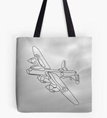 Avro Lancaster  WW2 heavy bomber Tote Bag