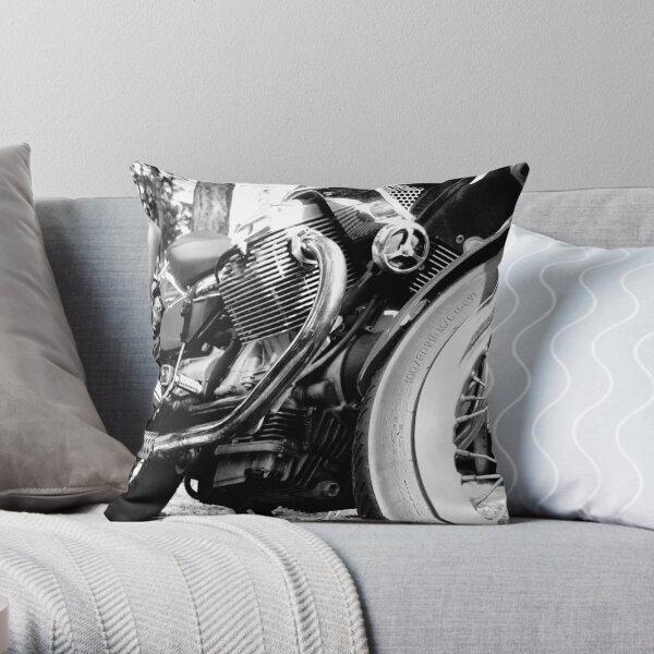 moto guzzi Throw Pillow