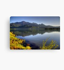 Lake at High Level Canvas Print