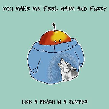 Warm and Fuzzy Peach by adraftee