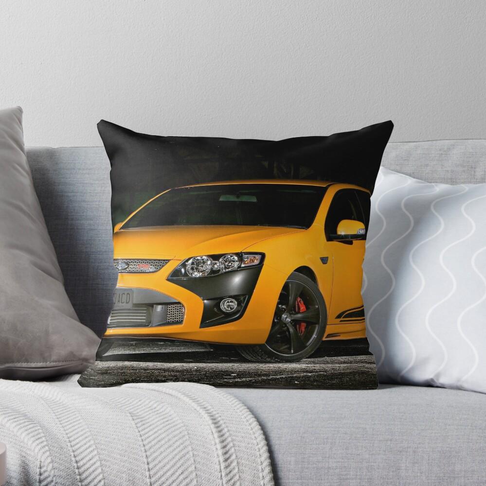 Mean MoFo! Throw Pillow