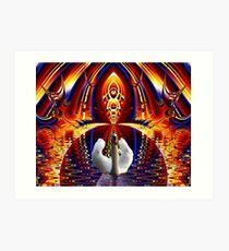 Goddess of Illusion Art Print