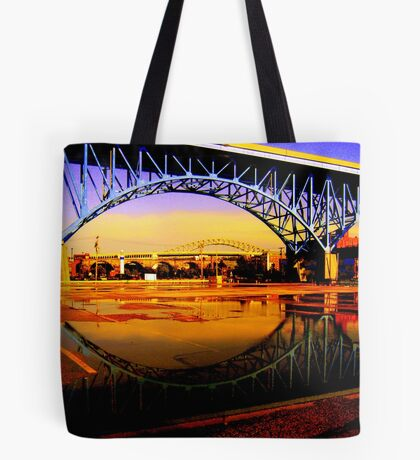 Cleveland, Ohio Tote Bag