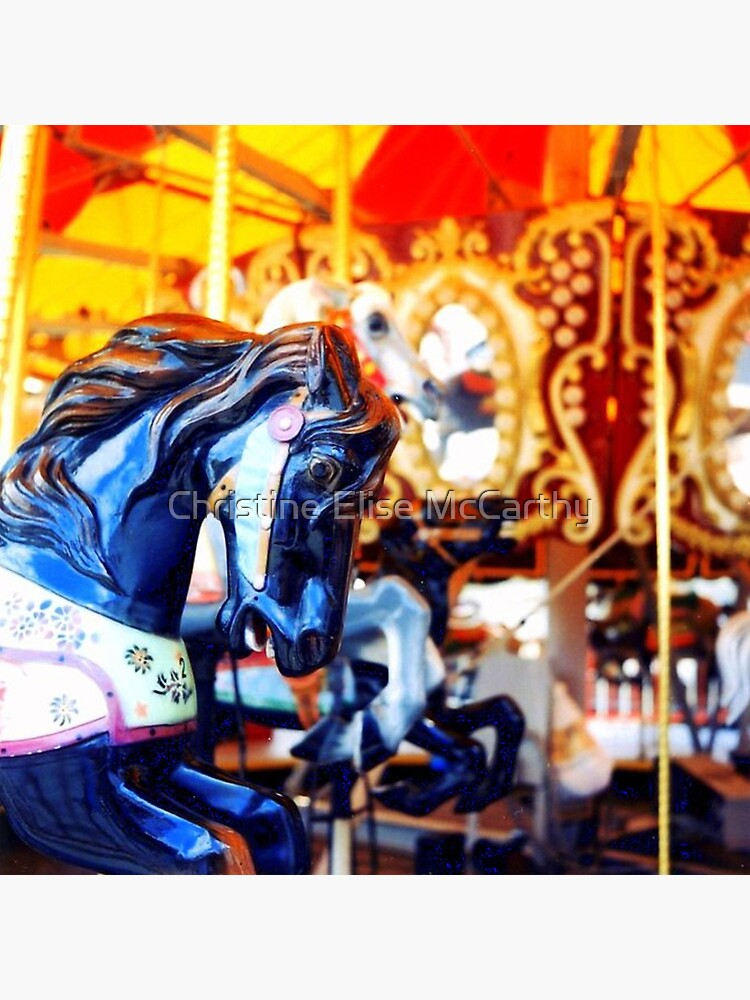 Coney Island Carousel by jdempsey