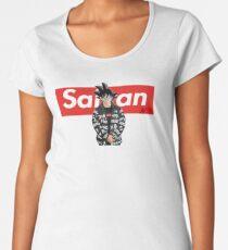 Sangoku x Saiyan Dragon Ball Z Premium Scoop T-Shirt