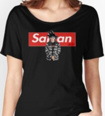 Sangoku x Saiyan Dragon Ball Z Women's Relaxed Fit T-Shirt