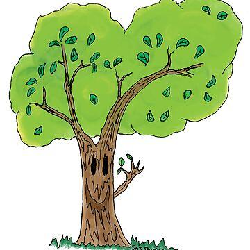 Happy Little Tree by Devine-Studios