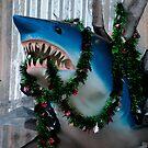 Festive Shark by Terry Runion