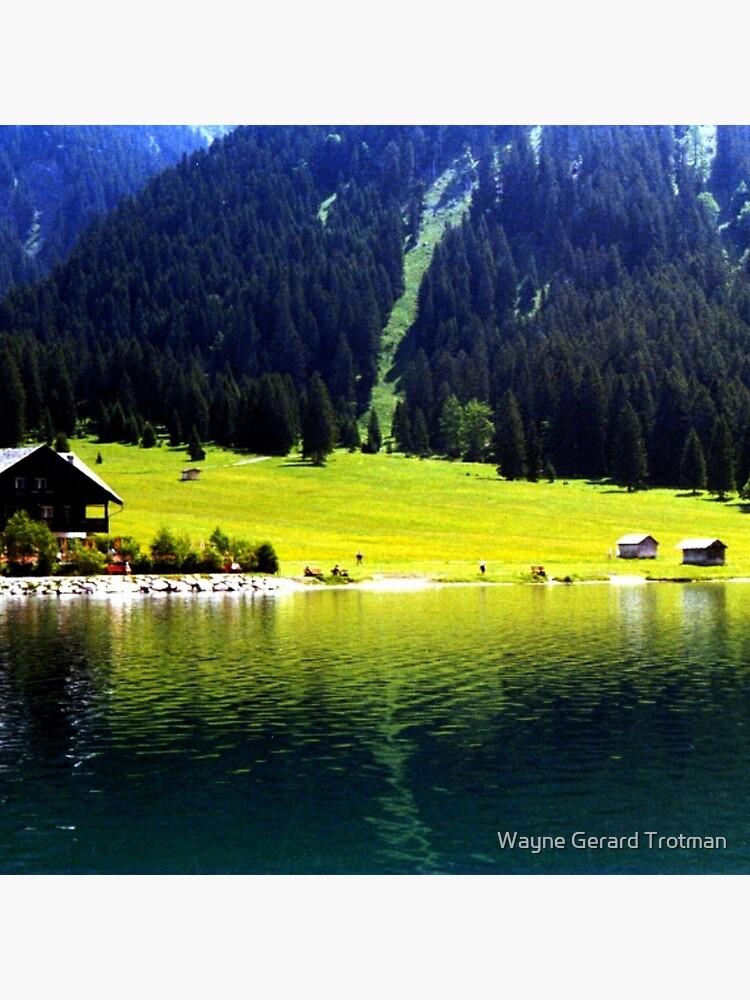 Austrian Alps by redmoondragon