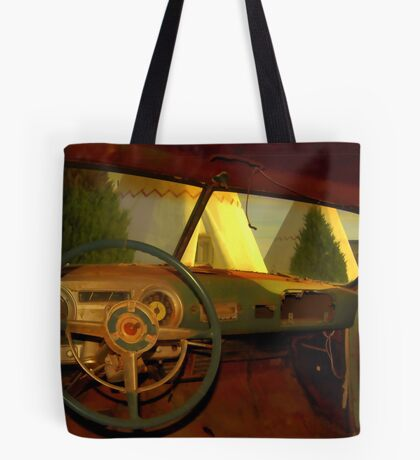 Car Trouble Tote Bag