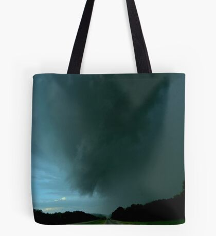 Trouble on the Horizon Tote Bag